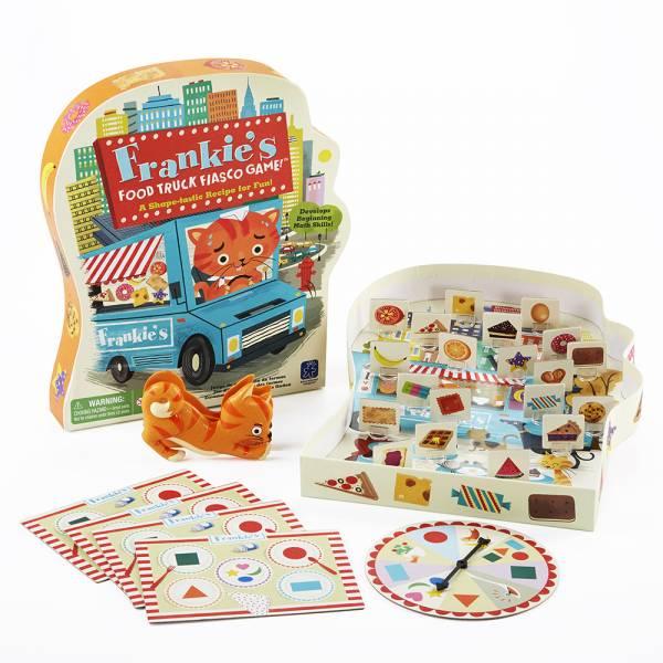 法蘭奇的食物卡車 益智桌遊,親子互動,手眼協調