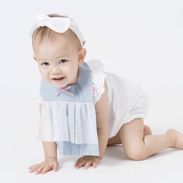 可愛造型圍兜/口水巾(蕾絲小甜心)