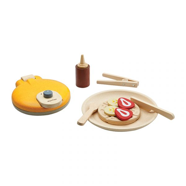 小主廚-鬆餅機組 泰國,天然橡膠木,鬆餅機組,小主廚