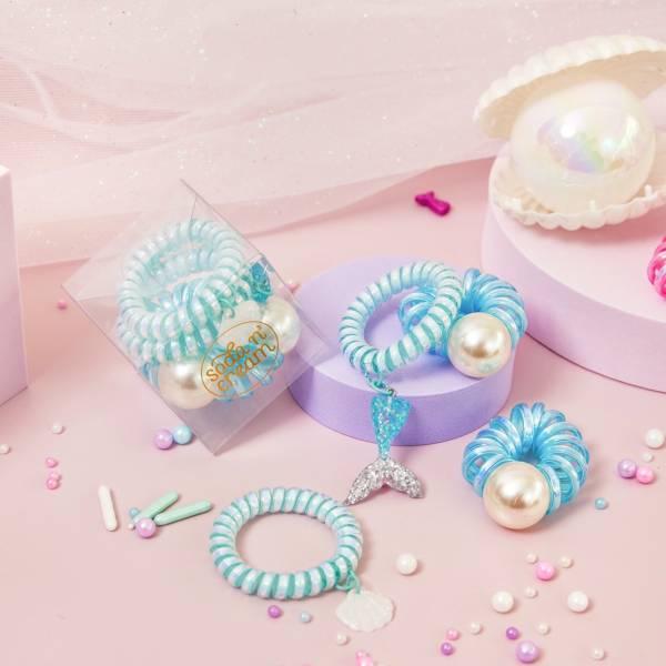 Soda n' Cream珍珠美人魚珠寶盒-藍