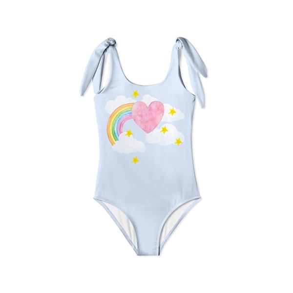 彩虹天堂泳裝 美國Stella Cove,連身泳裝,女童泳裝