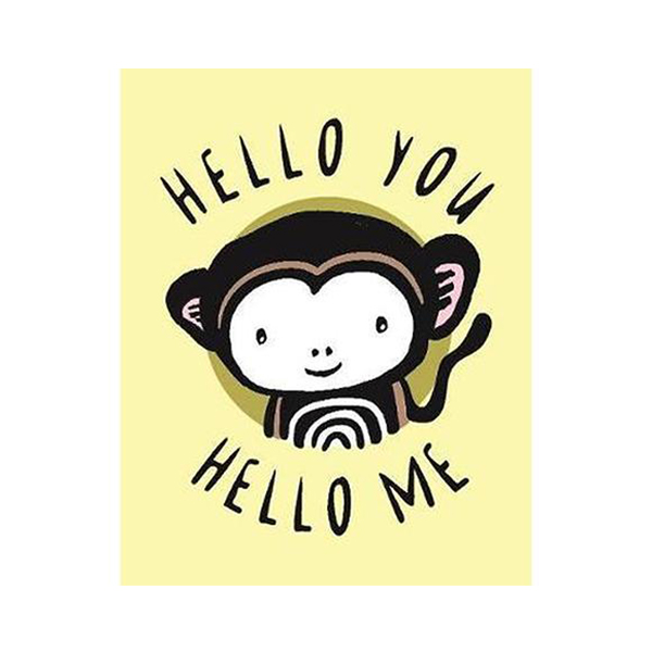 Hello You,Hello Me-A Soft Daytime Book With Mirrors 說你好布書