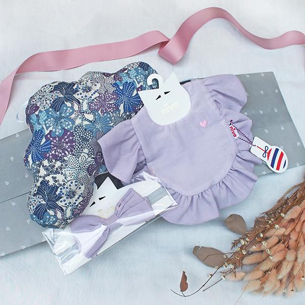 浪漫紫花甜心禮盒