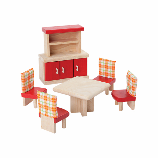 典藏娃娃屋-餐廳 泰國,天然橡膠木,木製娃娃屋家具,扮家家酒