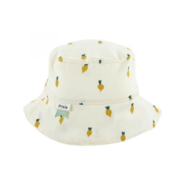 有機棉遮陽帽-活力蘿蔔 比利時trixie,有機棉遮陽帽,嬰幼兒帽子,吸濕透氣,頭圍48至52cm