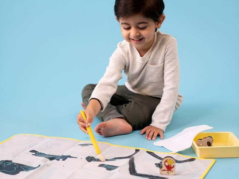Koala Crate 無尾熊箱-水筆畫布 美國KiwiCo,STEAM,適合年齡3-5歲,幼兒手作