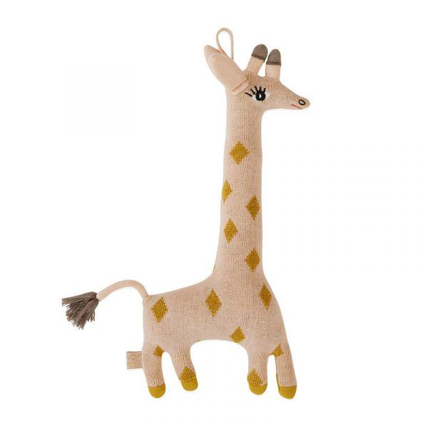 寶貝造型抱枕-咕唧長頸鹿 OYOY,丹麥家居,長頸鹿,造型抱枕,針織抱枕,家飾品