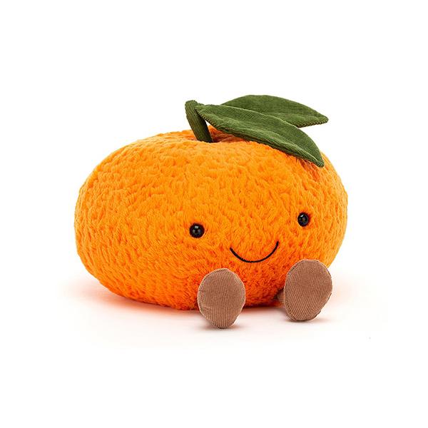 Amuseable Clementine 柑橘寶寶(15cm) jellycat,Amuseable系列,柑橘寶寶,英國絨毛玩偶,送禮推薦,媽媽必敗,好萊塢明星,寶寶第一個好朋友