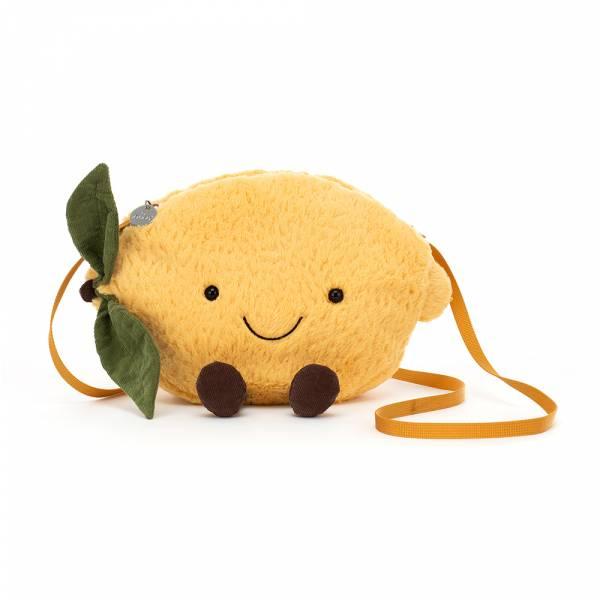Amuseable Lemon Bag 甜心檸檬斜背包 jellycat,Amuseable系列,檸檬,造型斜背包,送禮推薦