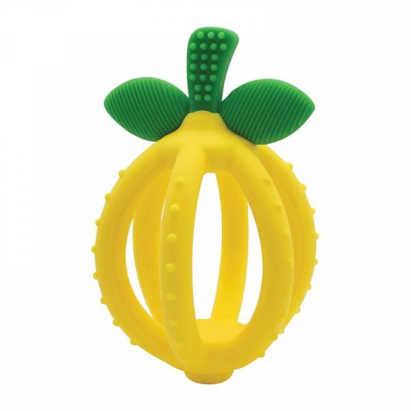 立體矽膠固齒器-陽光檸檬 美國Itzy Ritzy,固齒器,矽膠固齒器,可使用消毒鍋,減緩長牙不適感
