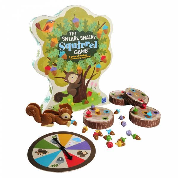 小松鼠的橡果爭奪戰  益智桌遊,親子互動,手眼協調