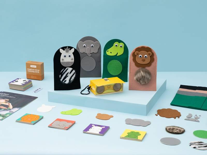 Koala Crate 無尾熊箱-益智動物勞作 美國KiwiCo,STEAM,適合年齡3-5歲,幼兒手作