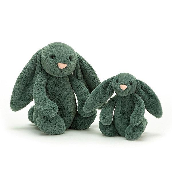 Bashful Forest Bunny 珠寶綠兔(18cm)