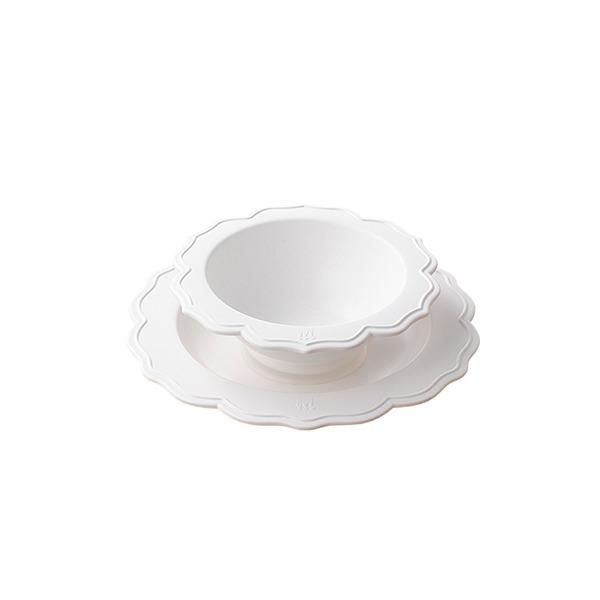 花型碗盤組(蛋糕上的鮮奶油)