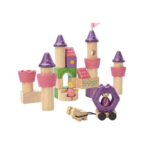 夢幻童話木質積木組