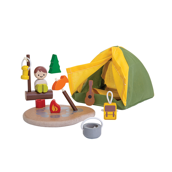 木質娃娃屋-露營趣