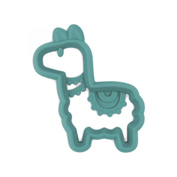 造型矽膠固齒器-萌萌草泥馬 美國Itzy Ritzy,固齒器,矽膠固齒器,可使用消毒鍋,減緩長牙不適感