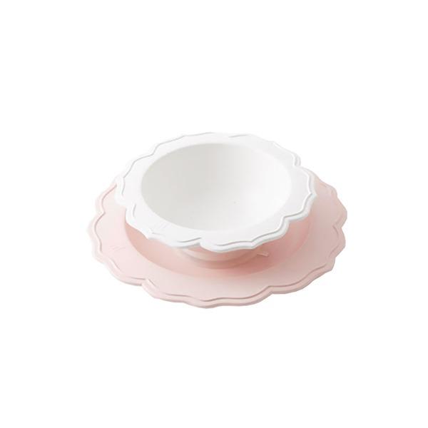 花型碗盤組(餐桌上的小野莓)