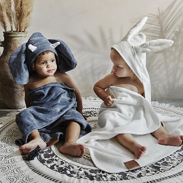 嬰幼兒連帽浴巾(Humble Hugo 小飛象)