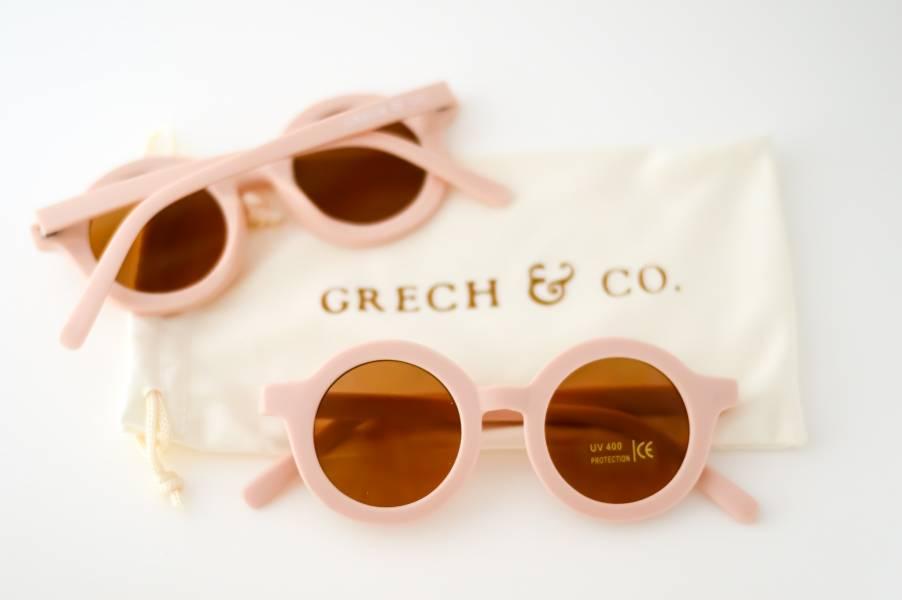 兒童太陽眼鏡(淡粉色) 丹麥,太陽眼鏡,墨鏡,抗UV400,適合18個月到6歲,兒童時尚,環保再生塑料