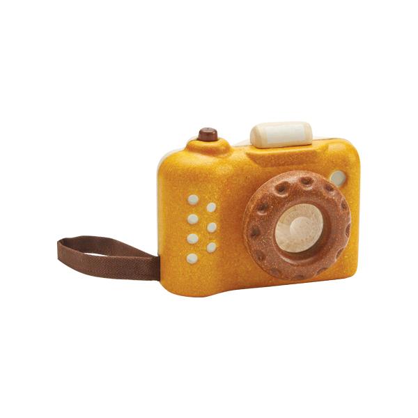 我的相機(陽光黃) 泰國,天然橡膠木,相機,萬花筒