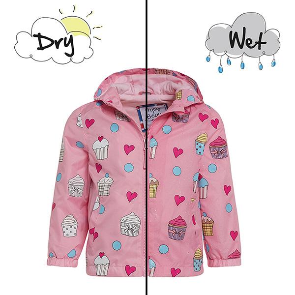 英國變色雨衣(粉紅蛋糕)