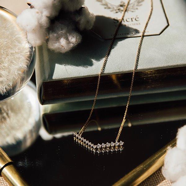 【Home】鑽飾項鍊-金