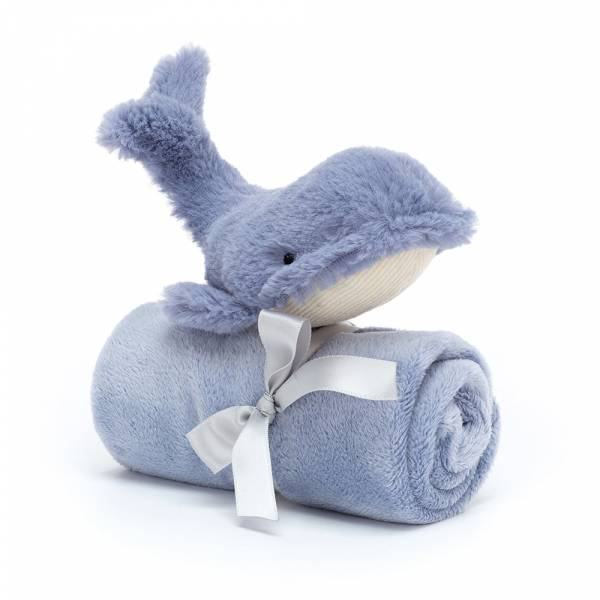 Wilbur Whale Soother 威力鯨魚安撫巾 jellycat,舒適柔軟系列,寶寶的第一個禮物,寶寶的第一條安撫巾,送禮推薦,媽媽必敗,安撫神器,五感刺激