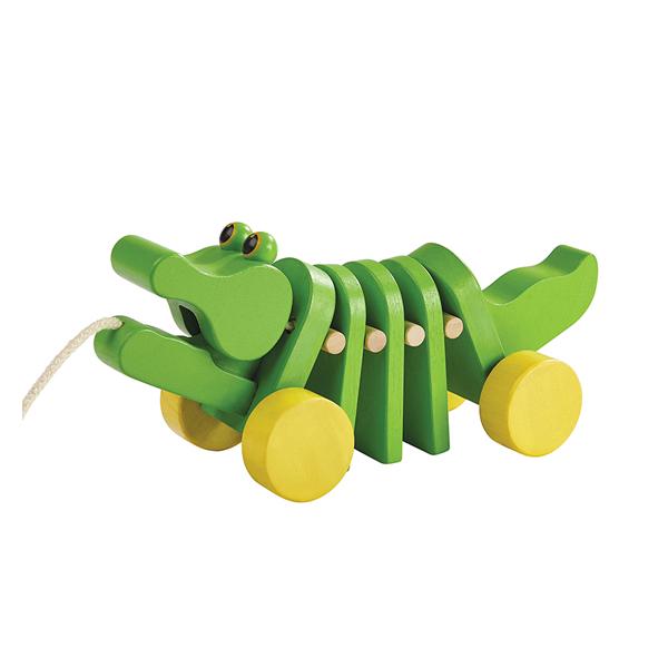 舞動鱷魚拉車 泰國,天然橡膠木,鱷魚拉車,幼兒肢體發展