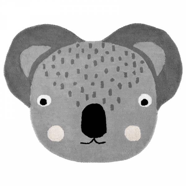 造型手工羊毛地毯-無尾熊 OYOY,丹麥家居,羊毛地毯,無尾熊,兒童房佈置,家飾品