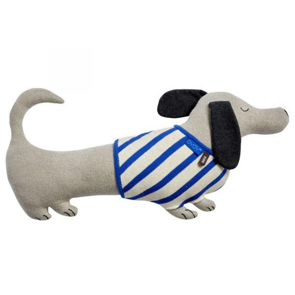 造型抱枕-臘腸狗 OYOY,丹麥家居,臘腸狗,造型抱枕,針織抱枕,家飾品