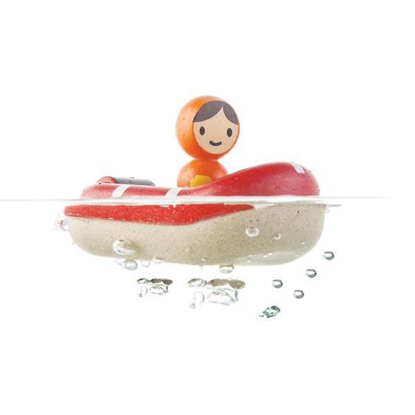 木作水玩具-救援橡皮艇