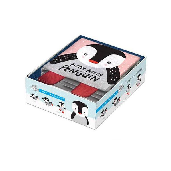 Pitter Patter Penguin 企鵝的冒險 可愛布書