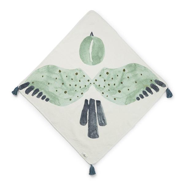 嬰幼兒連帽浴巾(Watercolour Wings 小飛俠)