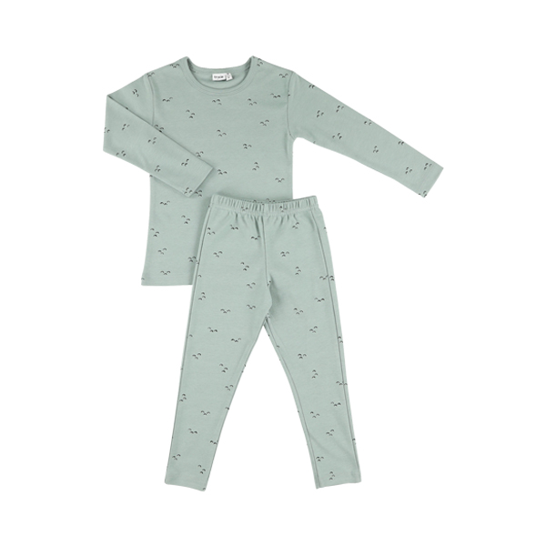 有機棉長袖家居服-微風山丘 比利時trixie,有機棉,家居服,吸汗透氣,歐洲製造
