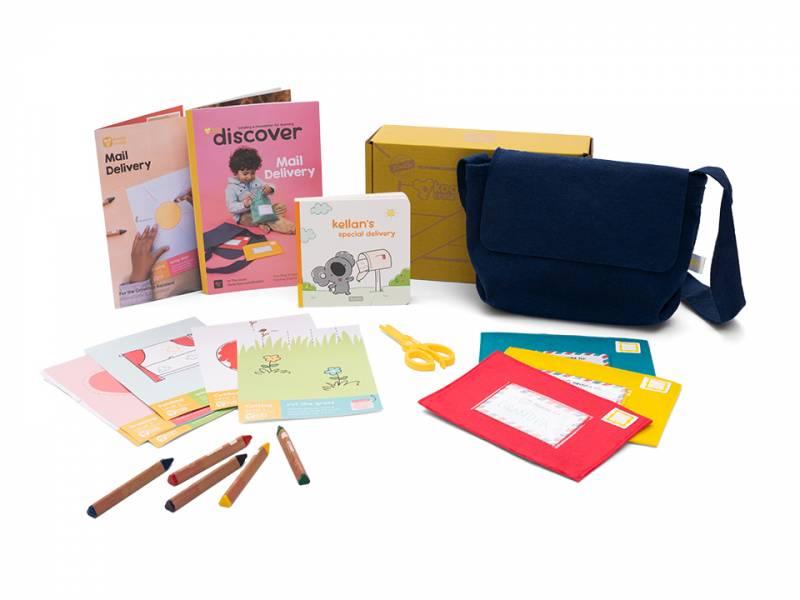Koala Crate 無尾熊箱-製作信件 美國KiwiCo,STEAM,適合年齡3-5歲,幼兒手作