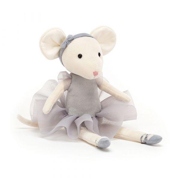 Pirouette Mouse Pebble 跳舞小老鼠(灰 27cm)