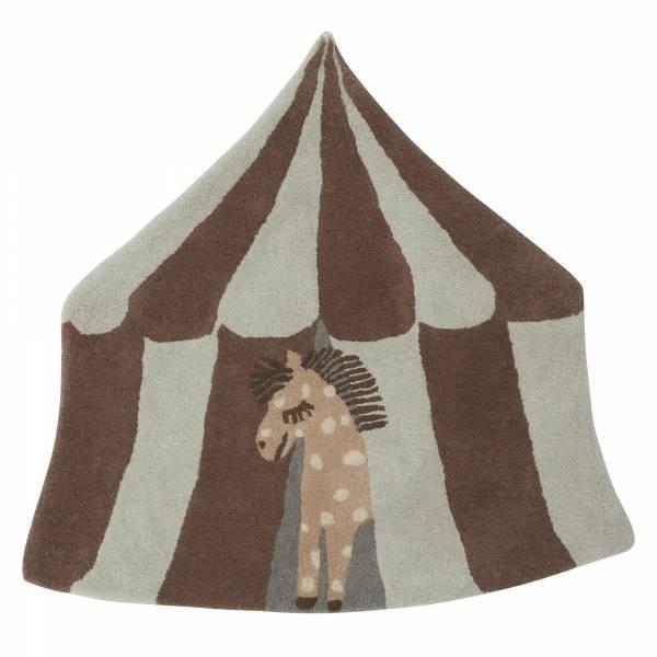 造型手工羊毛地毯-琵琶馬戲團 OYOY,丹麥家居,羊毛地毯,琵琶馬戲團,兒童房佈置,家飾品