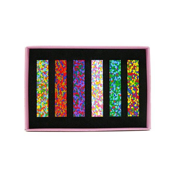 Dot Flowers Crayon 繽紛花色蠟筆(6色) 日本AOZORA,日本製,無毒蠟筆,蠟筆,繪畫,創意, 美術學院指定使用