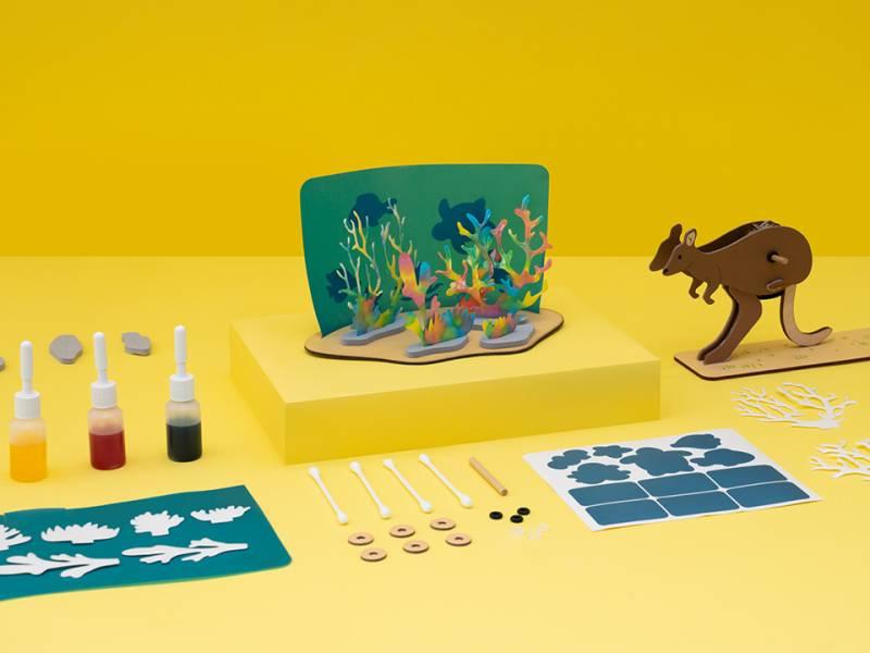 Atlas Crate 地圖集箱-探索澳洲 美國KiwiCo,STEAM,適合年齡6-11歲,兒童手作