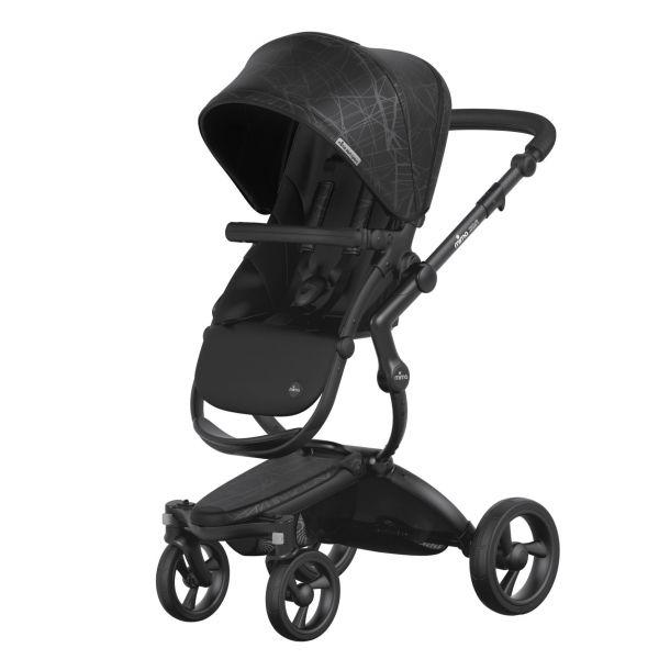 xari sport 嬰兒推車-幻影黑 西班牙mima,xari sport嬰兒推車,座椅寬敞挑高,氣壓式踏板煞車