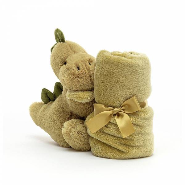 Bashful Dino Soother 恐龍安撫巾 jellycat,舒適柔軟系列,寶寶的第一個禮物,寶寶的第一條安撫巾,送禮推薦,媽媽必敗,安撫神器,五感刺激
