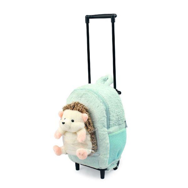 FUNDAY 小刺蝟拉桿背包 FUNDAY,拉桿背包,旅行袋,玩偶背包,小刺蝟