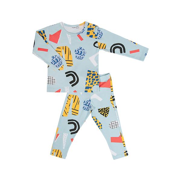 有機棉長袖家居服-Atelier Bingo聯名款 比利時trixie,有機棉,家居服,吸汗透氣,歐洲製造