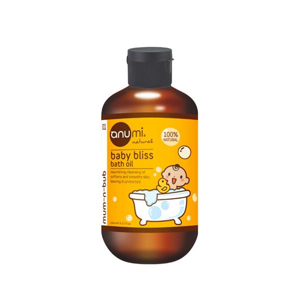 天然植萃橄欖寶寶沐浴油
