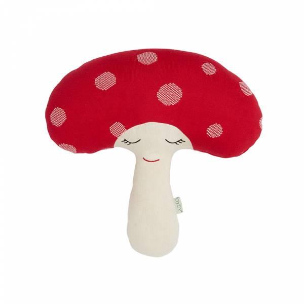 造型抱枕-快樂蘑菇 OYOY,丹麥家居,蘑菇,造型抱枕,針織抱枕,家飾品