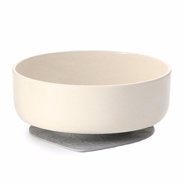 竹纖維兒童學習餐具-點心碗組(牛奶麥片)