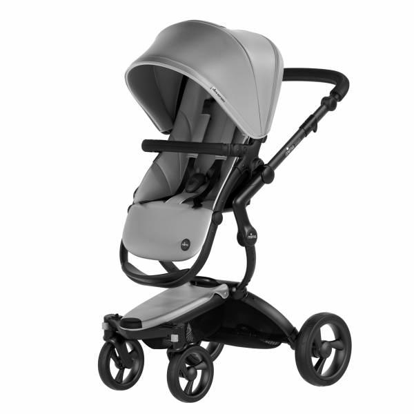 xari sport 嬰兒推車-皓月銀 西班牙mima,xari sport嬰兒推車,座椅寬敞挑高,氣壓式踏板煞車