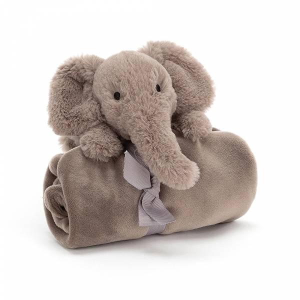 Shooshu Elephant Soother 大象安撫巾 jellycat,舒適柔軟系列,寶寶的第一個禮物,寶寶的第一條安撫巾,送禮推薦,媽媽必敗,安撫神器,五感刺激