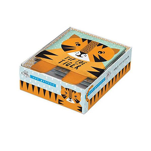 Tip Toe Tiger 老虎的探險 可愛布書